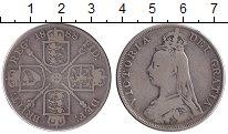 Изображение Монеты Великобритания 2 флорина 1888 Серебро