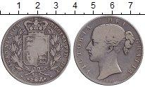 Изображение Монеты Великобритания 1 крона 1845 Серебро