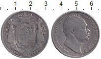 Изображение Монеты Великобритания 1/2 кроны 1836 Серебро VF