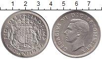 Изображение Монеты Великобритания 1 крона 1937 Серебро UNC-