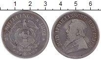 Изображение Монеты ЮАР 2 1/2 шиллинга 1892 Серебро VF