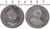 Изображение Монеты Остров Святой Елены 50 пенсов 2000 Медно-никель UNC