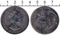 Изображение Монеты Тристан-да-Кунья 50 пенсов 1999 Медно-никель UNC-