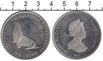 Изображение Монеты Тристан-да-Кунья 1 крона 2011 Медно-никель Proof-