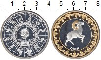 Изображение Монеты Токелау 5 долларов 2012 Серебро Proof- Елизавета II. Овен