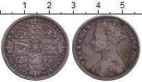 Изображение Монеты Великобритания 1 флорин 1849 Серебро VF Виктория.