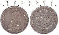 Изображение Монеты Саксония 1 талер 1821 Серебро XF