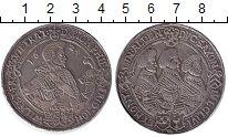 Изображение Монеты Саксония 1 талер 1624 Серебро XF Четыре брата(Саксони