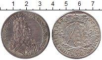 Изображение Монеты Саксония 2/3 талера 1696 Серебро XF+ Фридрих Август.