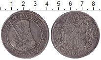 Изображение Монеты Саксония 1 талер 1557 Серебро VF Август