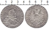 Изображение Монеты Австрия 1 талер 1618 Серебро XF- Матиас II