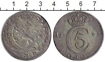 Изображение Монеты Норвегия 4 марки 1681 Серебро VF