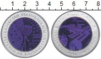 Изображение Монеты Казахстан 500 тенге 2013 Серебро Proof