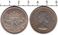 Изображение Монеты Канада 50 центов 1958 Серебро XF