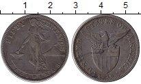 Изображение Монеты Филиппины 50 сентаво 1918 Медно-никель XF-