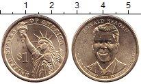 Изображение Мелочь США 1 доллар 2016 Медь UNC-