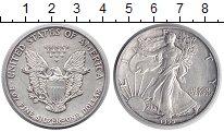 Изображение Монеты США 1 доллар 1990 Серебро XF