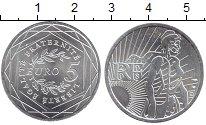 Изображение Монеты Франция 5 евро 2008 Серебро XF