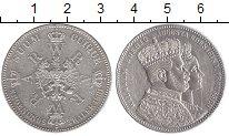 Изображение Монеты Пруссия 1 талер 1861 Серебро XF Коронация Вильгельма