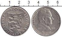 Чехословакия 100 крон 1951 Серебро