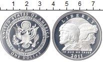 Изображение Монеты США 1 доллар 2011 Серебро Proof