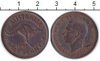 Изображение Монеты Австралия 1/2 пенни 1948 Бронза XF