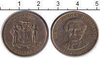 Изображение Монеты Ямайка 1 доллар 1993 Латунь XF