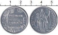 Изображение Монеты Полинезия 2 франка 2009 Алюминий UNC-