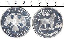 Монета Россия 3 рубля Серебро 1995 Proof фото