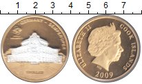 Изображение Монеты Острова Кука 1 доллар 2009 Медно-никель Proof