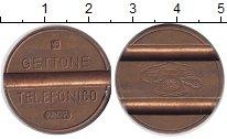 Изображение Монеты Италия жетон 0 Бронза XF Телефонный жетон.