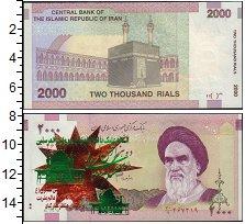 Изображение Боны Иран 2000 риалов 0  XF Аятолла Хомейни.