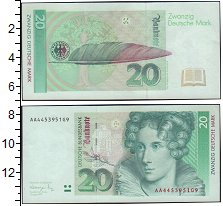 ФРГ 20 марок 0