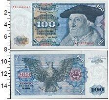 Изображение Банкноты Германия ФРГ 100 марок 0  XF