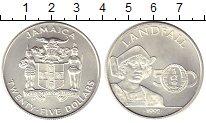 Изображение Монеты Ямайка 25 долларов 1992 Серебро UNC