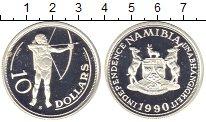 Изображение Монеты Намибия Намибия 1990 Серебро Proof