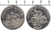 Изображение Монеты Франция 1/4 евро 2003 Серебро UNC- `100 лет велогонкам