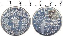 Изображение Монеты Франция 1/4 евро 2002 Серебро Proof-