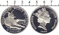 Изображение Монеты Острова Кука 50 долларов 1990 Серебро Proof-