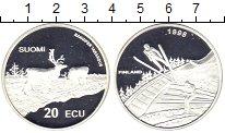 Изображение Монеты Финляндия 20 экю 1998 Серебро Proof