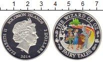 Изображение Мелочь Соломоновы острова 2 доллара 2014 Серебро Proof Елизавета II. Цветна