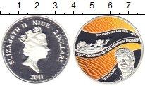 Изображение Монеты Ниуэ 2 доллара 2011 Серебро Proof
