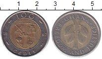 Изображение Монеты Гана 100 седи 1997 Биметалл XF