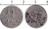 Изображение Монеты Голландия 2 стивера 1763 Серебро VF