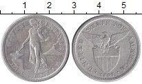 Изображение Монеты Филиппины 50 сентаво 1907 Серебро VF
