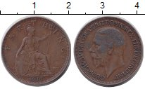 Изображение Монеты Великобритания 1 фартинг 1930 Бронза XF