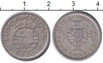 Изображение Монеты Мозамбик 2 1/2 эскудо 1952 Медно-никель XF Протекторат Португал