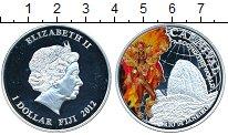 Изображение Монеты Фиджи 1 доллар 2012 Посеребрение Proof
