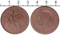 Изображение Монеты Великобритания 1 пенни 1936 Медь XF