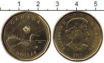Изображение Монеты Канада 1 доллар 2012  UNC-